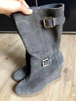 Guess Halfhoge laarzen grijs