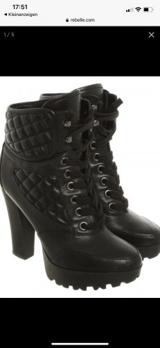 Guess Stivaletto stringato nero