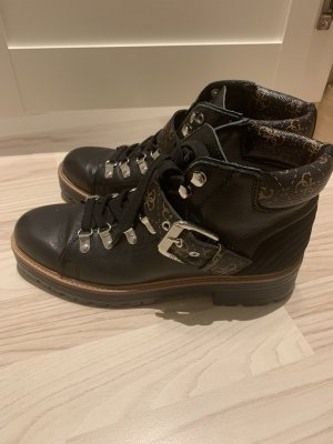 Guess Lace-up Booties multicolored