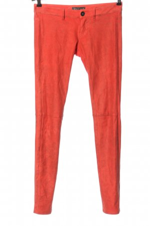 Guess Jersey Pants red casual look