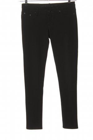 Guess Stoffhose schwarz Business-Look