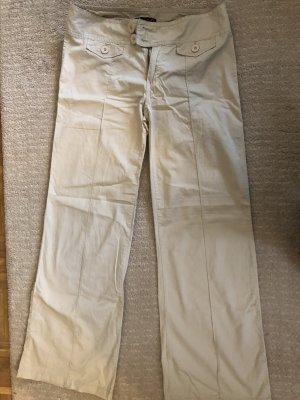 Guess Stoffen broek licht beige-room