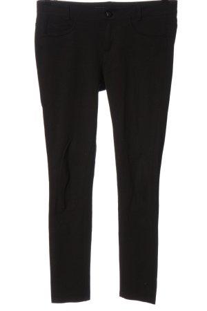 Guess Spodnie materiałowe czarny W stylu casual