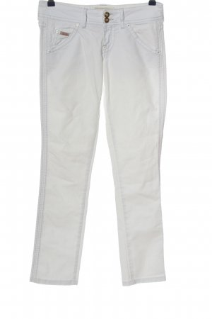 Guess Straight-Leg Jeans weiß Casual-Look