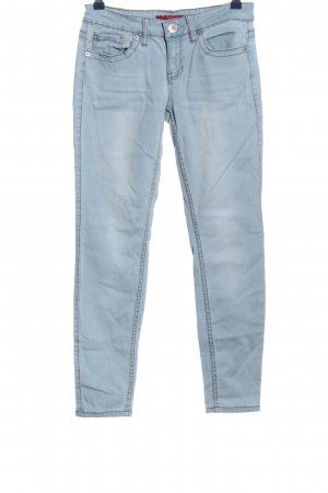 Guess Straight-Leg Jeans blau Casual-Look