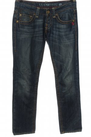 Guess Straight Leg Jeans blue casual look