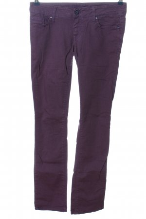 Guess Straight-Leg Jeans lila Casual-Look