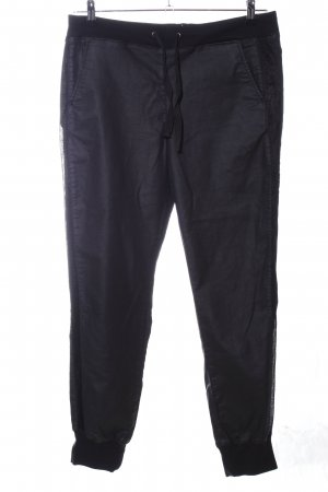 Guess Stretchhose schwarz Casual-Look