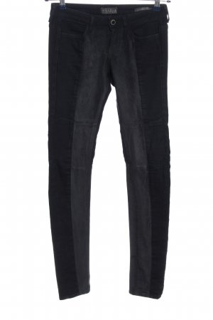 Guess Stretch Trousers black-light grey casual look