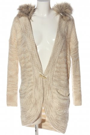 Guess Strick Cardigan creme meliert Casual-Look