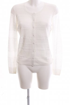 Guess Strick Cardigan weiß Business-Look