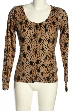 Guess Strick Cardigan Animalmuster Casual-Look