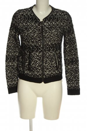 Guess Knitted Blazer black-white casual look