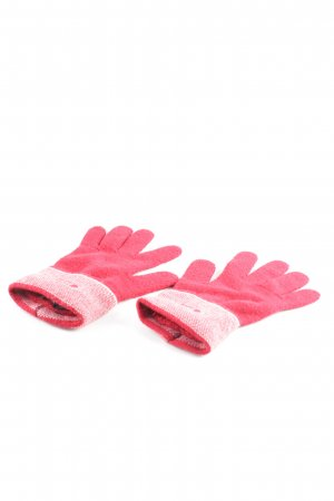 Guess Knitted Gloves red casual look