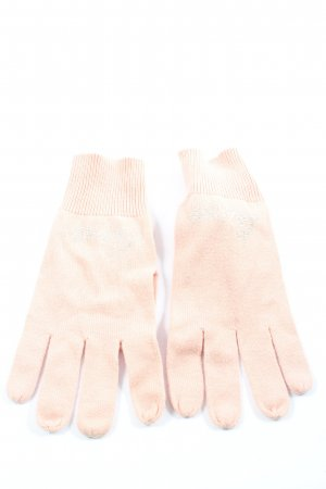Guess Knitted Gloves pink casual look