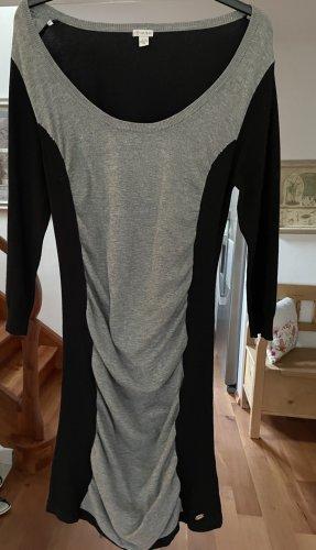 Guess Robe en maille tricotées noir-argenté