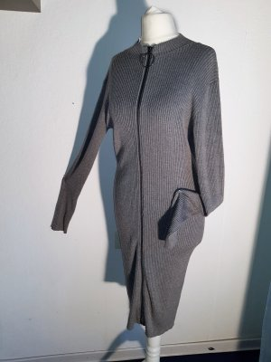 Guess Sweater Dress grey viscose