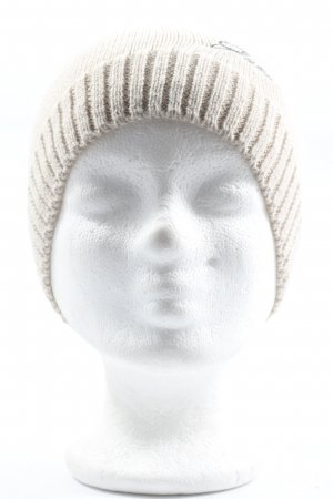 Guess Knitted Hat natural white casual look
