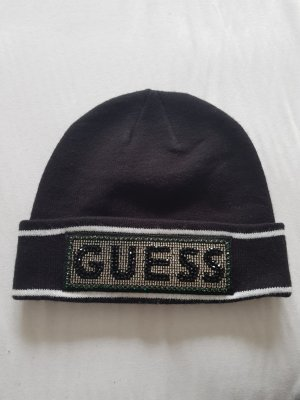 Guess Knitted Hat black