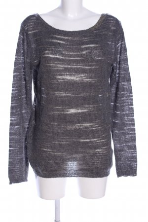 Guess Strickpullover hellgrau meliert Casual-Look