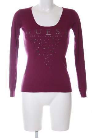 Guess Strickpullover pink Casual-Look