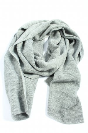 Guess Knitted Scarf light grey flecked casual look