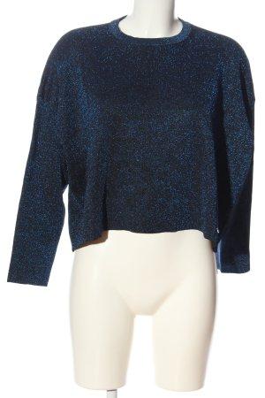Guess Strickshirt blau Casual-Look
