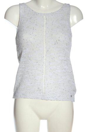 Guess Strickshirt weiß-silberfarben Casual-Look