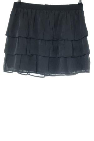 Guess Warstwowa spódnica czarny Elegancki