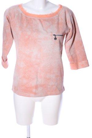 Guess Sweatshirt hellorange-creme Farbverlauf Casual-Look