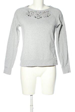 Guess Sweat Shirt light grey casual look