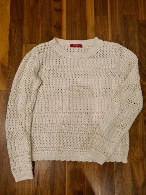 Guess Sweat Shirt natural white cotton