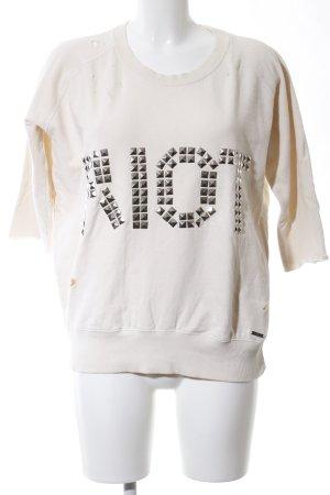 Guess Sweatshirt wollweiß Casual-Look