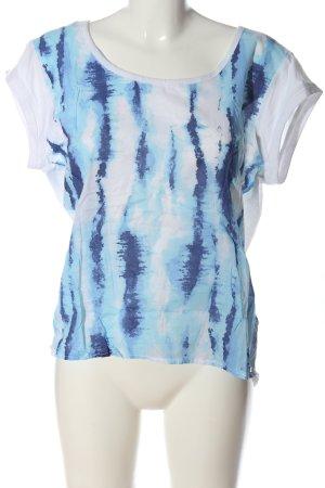 Guess T-Shirt abstraktes Muster Casual-Look