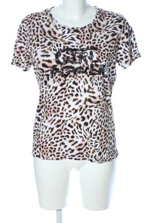 Guess T-Shirt Animalmuster extravaganter Stil