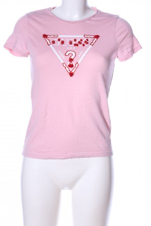 Guess T-Shirt pink Casual-Look