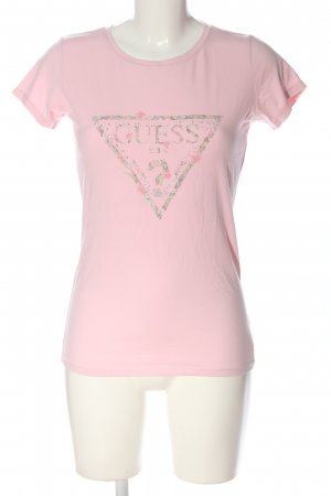 Guess T-shirt Stampa a tema stile casual