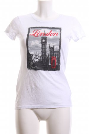 Guess T-Shirt Motivdruck Casual-Look