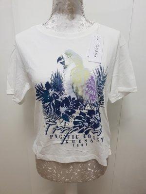 Guess T-shirt Shirt XS mit Rücken Schnürung