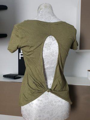 GUESS T-shirt Shirt XS Rücken Cut Out