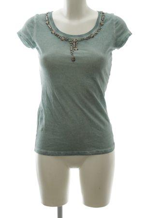 Guess T-Shirt türkis Casual-Look