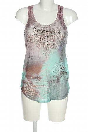 Guess Tank Top abstract pattern casual look