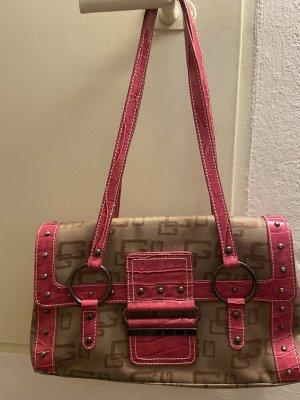Guess Handbag pink-beige