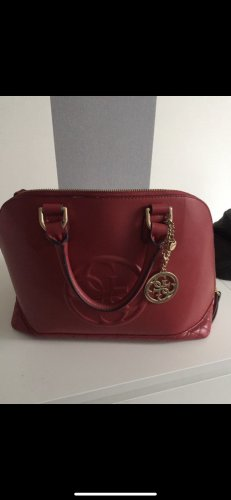 Guess Bowling Bag red