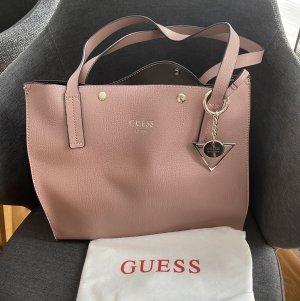Guess Bolso color rosa dorado-color plata