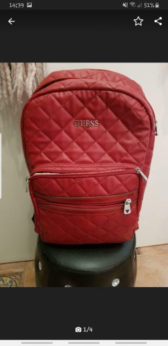 Guess Rugzaktrolley rood