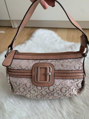 Guess Handbag pink-silver-colored