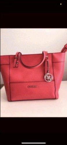 Guess Borsa shopper rosso lampone-rosa