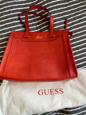 Guess Handbag red