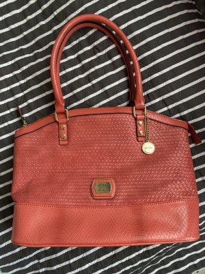 Guess Handbag salmon-bright red